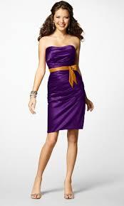 purple and orange wedding dress my best s wedding the beginning bridesmaid trade
