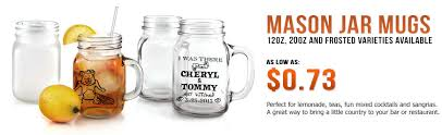 Personalized Mugs For Wedding Custom Mason Jars