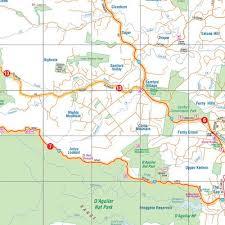 atlas map of australia australia motorcycle atlas 200 rides 6th edition hema by hema