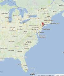 map of east coast states map usa east coast states major tourist attractions maps
