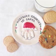 thebabyhandprintcompany christmas cookie plate cookie plate