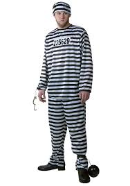 halloween costume robber mens striped prisoner costume cops and robbers costumes