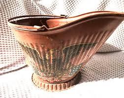 Vintage Americana Decor Vintage Coal Bucket Etsy