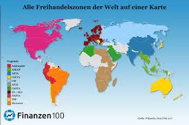Tpp Map Die 11 Größten Freihandelszonen Der Welt Auf Einer Karte