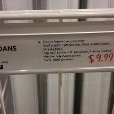 ikea bruddans blind 140x210 cm 9 99 in store only richmond vic