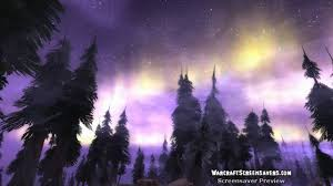 howling fjord sky animated world of warcraft screensaver hd