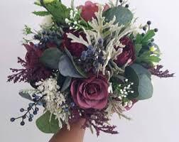 artificial wedding flowers silk flower bouquet etsy