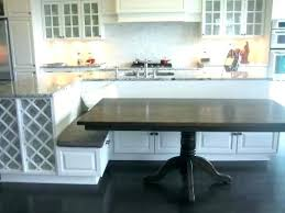 kitchens with island benches enchanting wood kitchen island with bench kitchen sophisticated