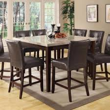 Black Wooden Dining Table And Chairs Dining Room Furniture Bellagiofurniture Store In Houston Texas