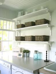 Laundry Room Storage Cabinets Ideas - laundry room wall shelves