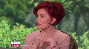 back view of sharon osbourne haircut sharon osbourne reveals excruciating moment she was left unable to