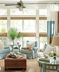 beach themed living room with dark furniture orange microfiber