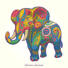 8 703 indian elephant stock vector illustration and royalty free