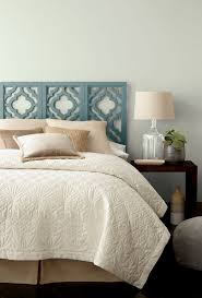 Gray Painted Bedrooms Behr In The Moment A Blue Green Gray Paint Colour On A Painted