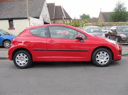 peugeot 207 red used peugeot 207 1 4 vti s 95 3dr ac 3 doors hatchback for