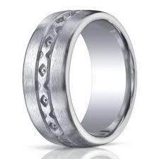 wedding bands in benchmark men s wedding band in argentium silver x design 10mm