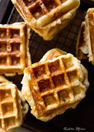 thanksgiving waffle recipe traditional belgian liege waffle recipe ashlee marie