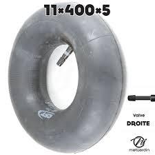 chambre à air droite chambre à air spéciale motoculture 11 x 400 x 5 valve droite