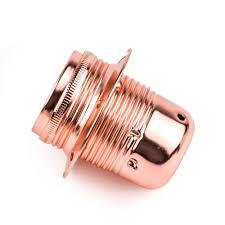 1 pc vintage rose chrome lamp holder socket e27 220v pendant light