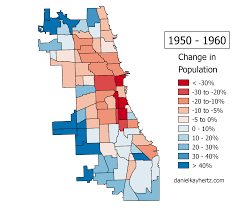 Chicago Race Map by Eighty Years Of Chicago U0027s Population Annotated U2013 City Notes
