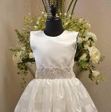 first communion dress cotillion dress confirmation dress flower