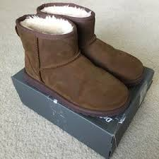 s ugg australia mini leather boots uggs on poshmark