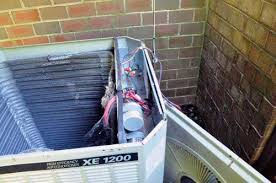 how to clean an outdoor air conditioning coil trane unit example