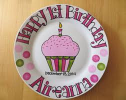 personalized birthday plate etsy your place to buy and sell all things handmade