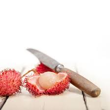 lychee fruit candy how to peel a litchi lychee step by step
