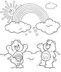 41 nable styling images care bears coloring