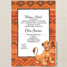 lion king baby shower invitations lion king simba baby shower invitations baby cachet