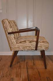 vintage mid century modern atomic lounge chair by paoli ebay