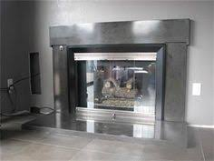 concrete fireplace surrounds contemporary fireplaces other