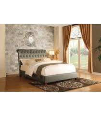 Upholstered Sleigh Bed Josie Upholstered Sleigh Bed Maranatha Furniture