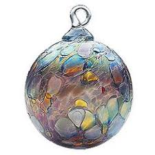 each glass eye studio blown glass ornament is an individual work