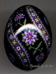 ukrainian egg in a mist pysanky ukrainian easter egg by so jeo