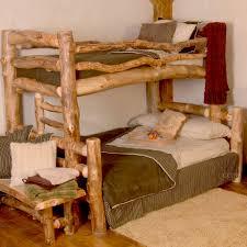 Log Bunk Beds Idea Unique  MYGREENATL Bunk Beds - Log bunk beds