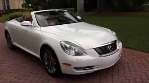lexus convertible sold 2006 lexus sc430 convertible for sale by autohaus of naples