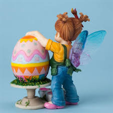 my kitchen fairies entire collection painting easter egg my kitchen fairies figurine
