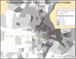 Metrolink Route Map by Map Series Iii Proposed Metrolink And Bus Rapid Transit Routes