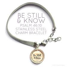 stainless charm bracelet images Bible verse charm bracelet with stainless steel mesh chain jpg