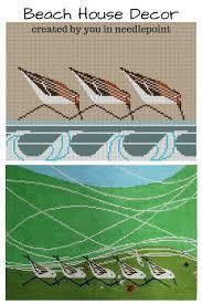 46 best beach decor needlepoint images on pinterest needlepoint