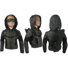 Halloween Gifts For Boys by Arrow Season 6 Oliver Queen Cosplay Halloween Costume Jacket Coat
