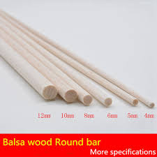 Balsa Wood Projects For Free by 300mm Long 4 5 6mm Diameter 20 Pieces Lot Aaa Balsa Wood Roud