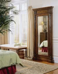 Floor Mirrors For Bedroom by Decorating Luxury Wooden Standing Mirror Jewelry Armoire In