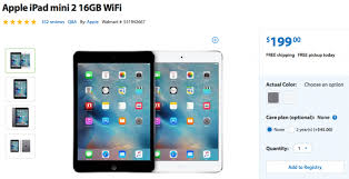 black friday iphone walmart starts black friday early with deals on the ipad mini