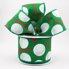 emerald green ribbon 2 5 royal canvas golf balls ribbon emerald green 10 yards