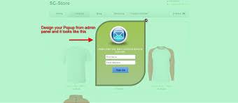 mailchimp custom popup subscription u2013 ecommerce plugins for online