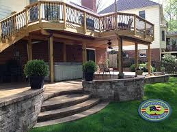 Retaining Wall Patio Design Retaining Walls Design Galleries Independence Landscape Lawn Care