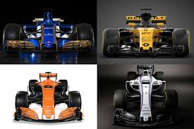 new 2017 f1 cars the formula one grid revealed auto express